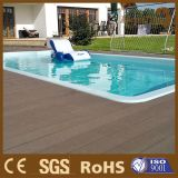 Decking de madera compuesto al aire libre de la piscina WPC