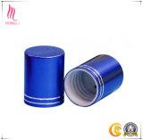 Cápsula de aluminio del tornillo colorido