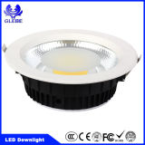 Ce Certificado de RoHS Lámparas de techo de 10W 20W 30W LED Down Light for Hotel