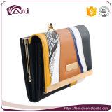 Портмоне бумажника женщин способа Fani 2017 самое последнее с рамкой металла