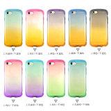 Handy-Fall des Shs guter Handgefühls-Steigung-Farben-Effekt-TPU für iPhone 7
