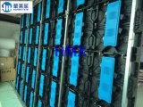 La visualización de alquiler de Adveitising de la visualización de LED del funcionamiento a todo color de interior de la etapa P3.91 a presión la cabina del aluminio de la fundición