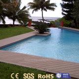 Panneau de plancher extérieur résistant au feu de la CE WPC pour la piscine