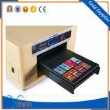 Impresora de cristal ULTRAVIOLETA de la inyección de tinta de la buena calidad Cmyk+ 4 de la talla ULTRAVIOLETA blanca de la impresora A3
