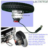 Regulador y palanca de mando del sillón de ruedas de Powerchair en el motor de la vespa de la movilidad del orgullo