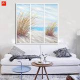 Ozean-Wand-Abbildung-Meerblick-Ölgemälde eingestellt auf Segeltuch