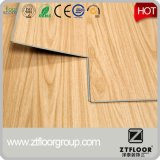 Suelo de vinilo de PVC impermeable con tratamiento superficial simple