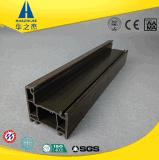Le PVC stratifié par qualité profile le profil de guichet de PVC