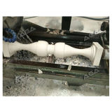 Máquina de piedra del torno para la barra de la guía/el casquillo estilóbato de la pelotilla del balaustre