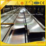 Profilo di alluminio sporto per costruzione industriale con i pesci del laminatoio