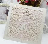 고품질 구렁 디자인에 의하여 주문을 받아서 만들어지는 Avalible 결혼식 권유 카드