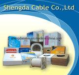 Câble coaxial de télécommunication Série Rg Tri Bouclier de Rg58cu / Rg59cu / RG6 / Rg7 / Rg11