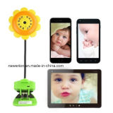 Sécurité à domicile Sunflower Design Wireless Baby Monitor WiFi Camera DVR pour iPhone iPad Android