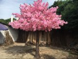 Fleur de cerise artificielle décorative de vente chaude de mariage rose/Sakuratree