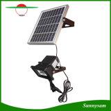 太陽動きセンサーライト超明るい5W機密保護の太陽フラッドライトをつける屋外の庭のヤード