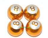 4PCS /Set熱いアルミニウム車車輪のタイヤ弁茎の帽子