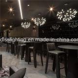 Lámpara de acrílico moderna de la lámpara LED para la iluminación pendiente