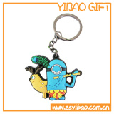 2D oder 3D weiches Kurbelgehäuse-Belüftung Keychain, Schlüsselring, Keyholder Förderung-Geschenk (YB-KC-KC-03)