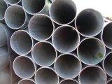 Pipe de meubles de section de cavité de grand dos d'acier doux de tube de grand dos noir