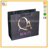Bolso de empaquetado de papel de la alta calidad, bolso de compras de papel