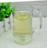 320ml de hoge Transparante Loodvrije Mok van het Bier van het Glas met Handvatten