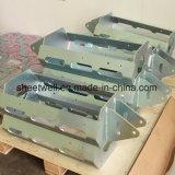 De Delen die van het Metaal van de Staalplaat Fabrikanten buigen