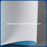 Het waterdichte Canvas van de Polyester van de Stof van de Steen van de Basis van het Water Blauwe Achter Digitale Afgedrukte