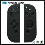 Nintendo Switch antideslizante cubierta de silicona Skins, estuche de protección para Joy-Con controlador con pulgar grips tapas