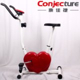 Bici de ejercicio magnética en forma de corazón del equipo del edificio de carrocería
