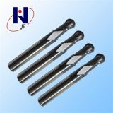 R1.5 * 6 * 4 * 75L China Fabricação Carbide Square Ball Nose End Mill Cutters