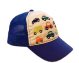 O bordado feito sob encomenda tampa o chapéu relativo à promoção do bebê do bordado do tampão do Snapback do chapéu dos tampões do algodão de Burshed