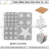 Coaster retro feito sob encomenda por atacado da resina/Coaster de vidro/Coaster cerâmico/Coaster de madeira/Coaster plástico