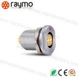 Deu 1031 A010-130 Connecteurs compatibles Fischer Prise, IP68, Panneau, 10 voies, connecteur imperméable Deu 1031