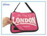 Saco de ombro da cor da cor-de-rosa do curso de Londres