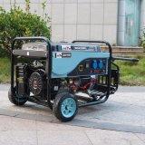 El aire eléctrico del generador de la gasolina del generador 13HP de la gasolina 5kVA del alambre de cobre la monofásico del comienzo del bisonte (China) se refrescó