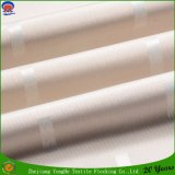 Hotel textil recubierto P. cortina de ventana de tela tejida de poli impermeable cortina del apagón de la tela