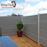 Diseño especial los menos paneles de aluminio de la cerca de la venta al por mayor WPC del mantenimiento