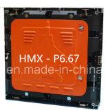 Módulo al aire libre de la visualización de LED de P6.67 SMD3535