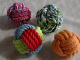 Juguetes de la bola de la cuerda del perro para el entrenamiento y jugar no tóxicos