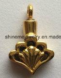 Jóia de imitação do ouro novo do coração do projeto com diamante