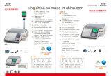 Bildschirm LCD-Digital für SupermarktSuperstore färben Barcode-Kennsatz-Schuppe
