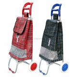 Leichte faltende fahrbare kaufenlaufkatze des Gepäck-Metall2