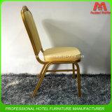 Металл роскошной конструкции самомоднейший штабелируя обедая стул для гостиницы и трактира