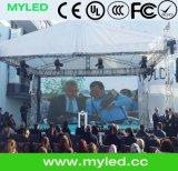 최고 가격 HD P3 P4 P5 P6 실내 SMD 무대 뒤 배경 임대 풀 컬러 큰 LED 영상 벽 전시