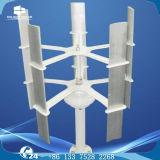 moinho de vento vertical do controlador da fora-Grade MPPT do sistema de gerador das energias eólicas 10kw