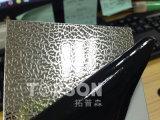 Strato di tela impresso laminato a freddo dell'acciaio inossidabile di colore per la decorazione