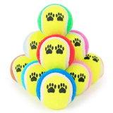 다중 색깔 애완 동물 정구 공 장난감 개 장난감