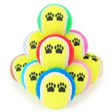 Multi Farben-Haustier-Tennis-Kugel-Spielzeug-Hundespielzeug