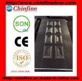 Peinture de porte en acier laminé à froid estampé, panneau de porte en acier (CF-SDS01)