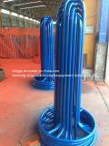 Elemento portante basso rotondo blu del filo di acciaio della presa di fabbrica